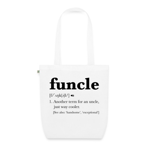 Funcle Dictionary Definition - EarthPositive Tote Bag