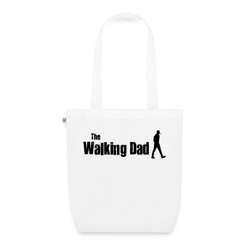 the walking dad - EarthPositive Tote Bag