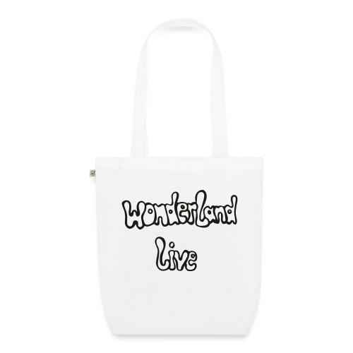 wonderland live - Bio-Stoffbeutel
