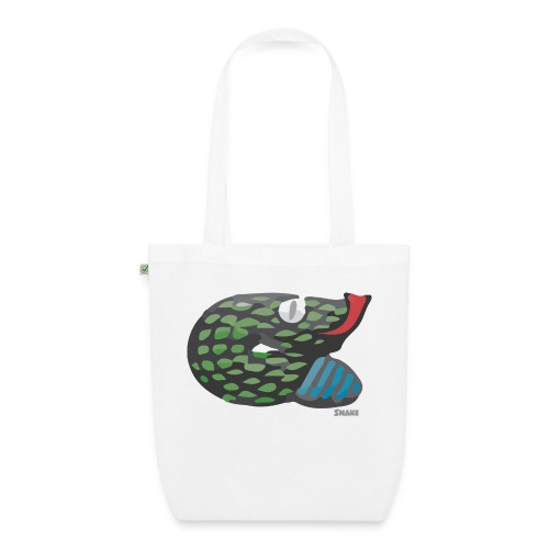 Aztec Snake - EarthPositive Tote Bag