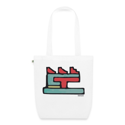 Aztec Icon House Night - EarthPositive Tote Bag