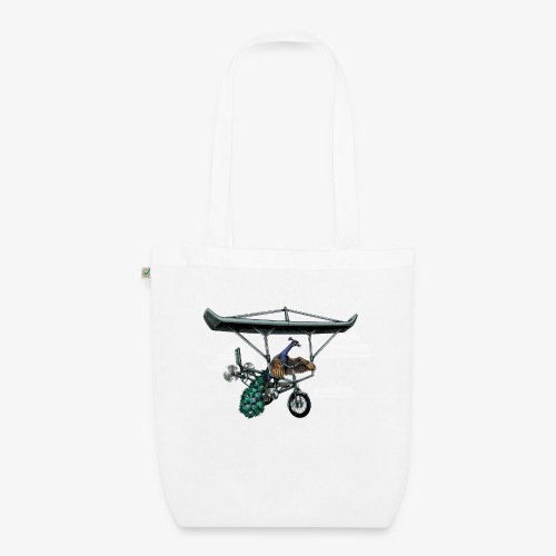 Flight of the Peacock - EarthPositive Tote Bag