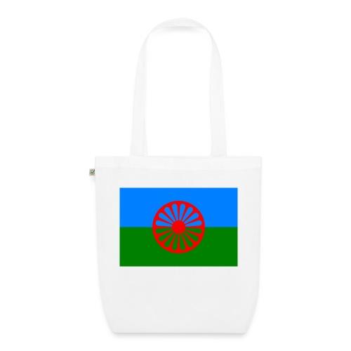 Flag of the Romani people - Ekologisk tygväska