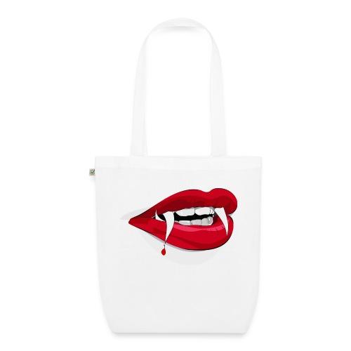Vampire lips - Bio-Stoffbeutel