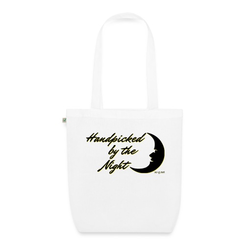Handpicked design By The Night - Logo Black - EarthPositive Tote Bag