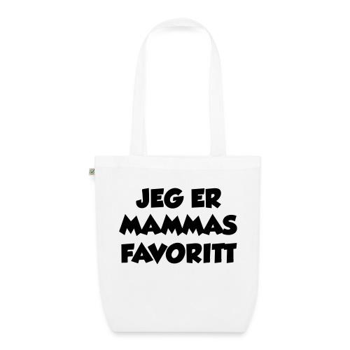 «Jeg er mammas favoritt» (fra Det norske plagg) - Bio-stoffveske