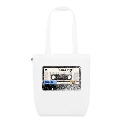 Music cassette chill mix - Øko-stoftaske