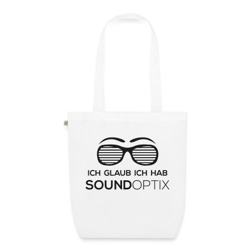 Ich glaub ich hab SoundOptix Schwarz - Bio-Stoffbeutel