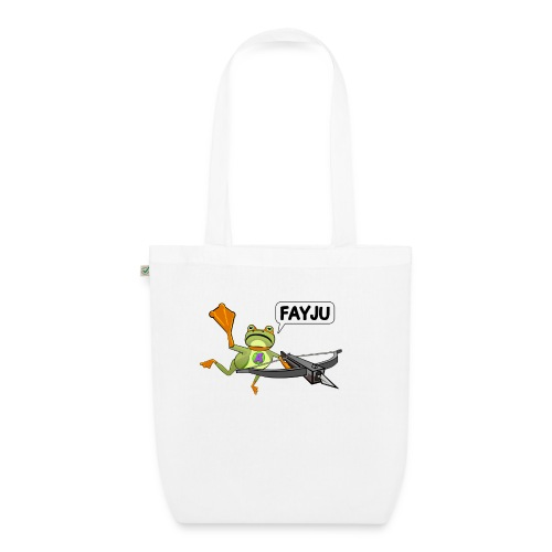Amazing Frog Crossbow - EarthPositive Tote Bag