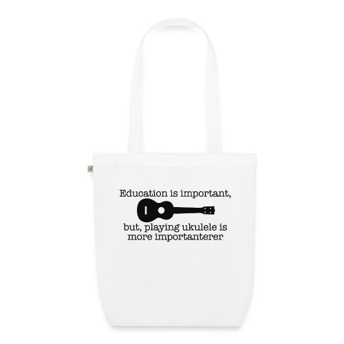 Important Ukulele - EarthPositive Tote Bag