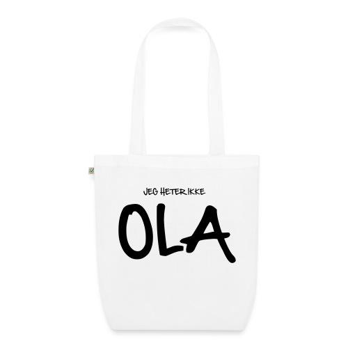 Jeg heter ikke Ola (fra Det norske plagg) - Bio-stoffveske