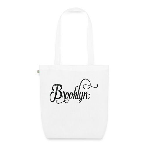 Brooklyn typography vintage - EarthPositive Tote Bag