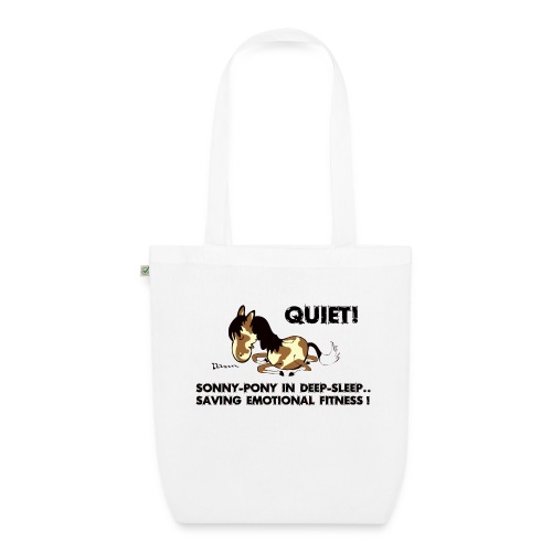 QUIET Sonny Pony in deep sleep - Bio-Stoffbeutel