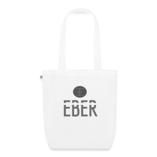 EBER: T-Shirt - White - Ekologisk tygväska