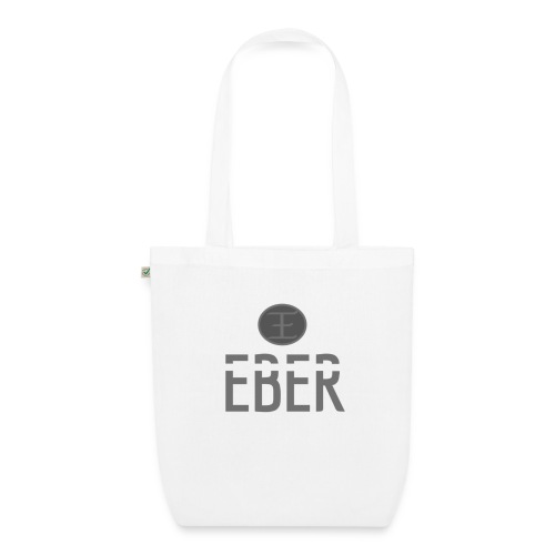 EBER: T-Shirt - Grey - Ekologisk tygväska