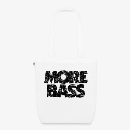 More Bass (Vintage/Schwarz) Bassist Bassisten - Bio-Stoffbeutel