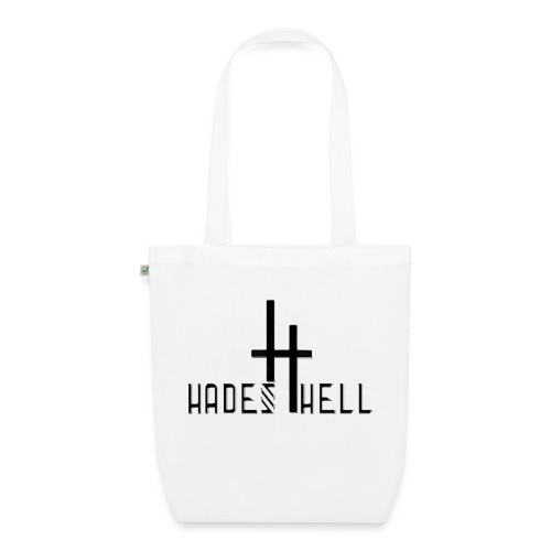 hadeshell black 3D - Bio-Stoffbeutel