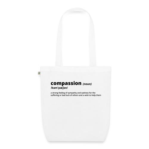 Compassion - Shirt (100% bio und fairtrade) - Bio-Stoffbeutel