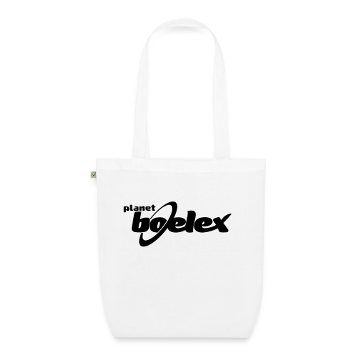 Planet Boelex logo black - EarthPositive Tote Bag