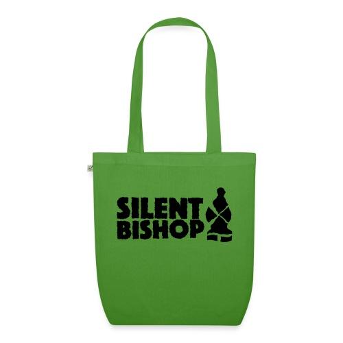 Silent Bishop Logo Groot - Bio stoffen tas