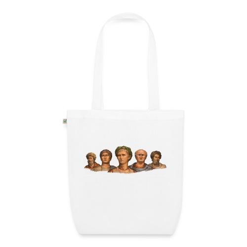Popiersia cesarskie | Imperial busts - Ekologiczna torba materiałowa