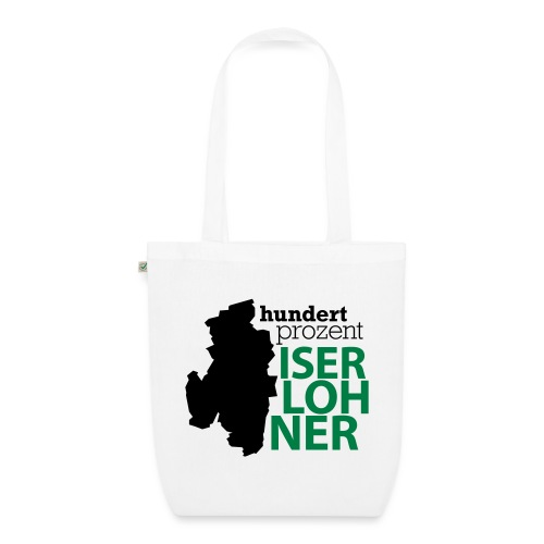 100% Iserlohner Stadtkarte - Bio-Stoffbeutel