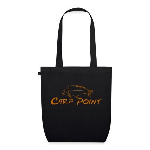 Carp Point orange mid - Bio-Stoffbeutel