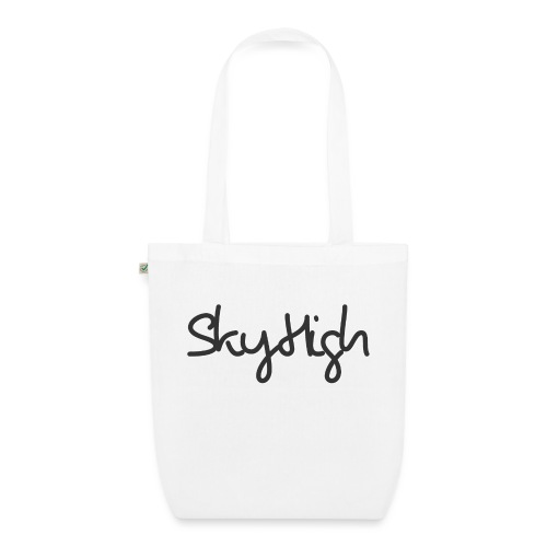 SkyHigh - Men's Premium T-Shirt - Black Lettering - EarthPositive Tote Bag