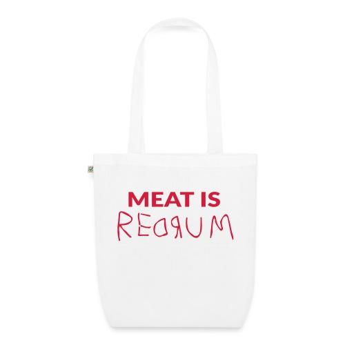 Meat is redrum - Meat is Murder - Luomu-kangaskassi