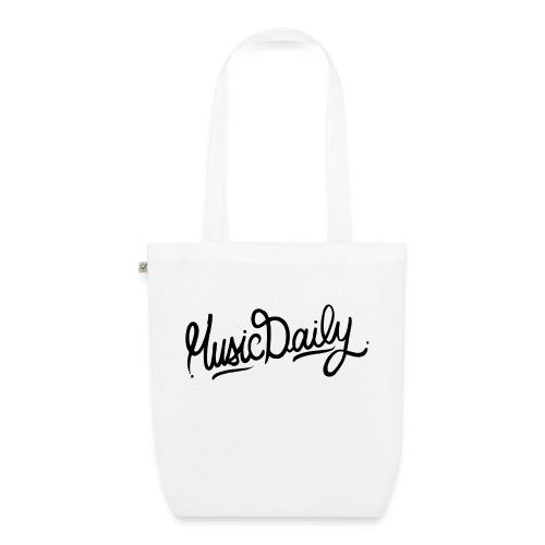 MusicDaily Logo - Bio stoffen tas