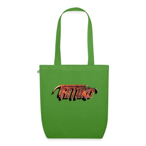 Trittiko Logo Rot 3D - Bio-Stoffbeutel