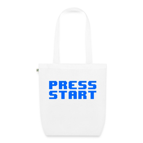 Press Start - Borsa ecologica in tessuto