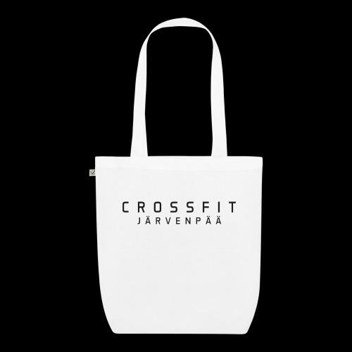 CrossFit Järvenpää mustateksti - Luomu-kangaskassi