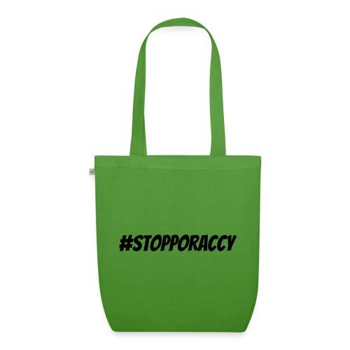 Stop Poraccy - Borsa ecologica in tessuto