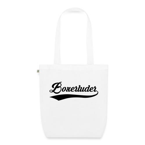 Motorrad Fahrer Shirt Boxerluder - Bio-Stoffbeutel