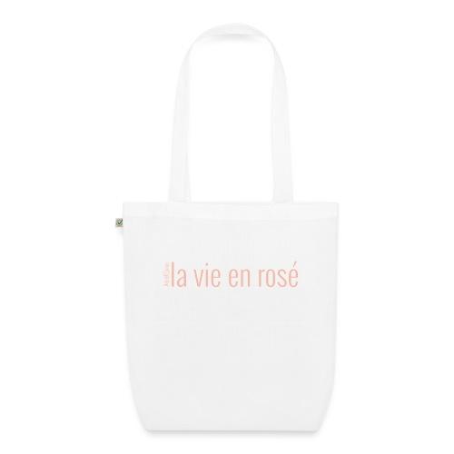 la vie en rosé - Bio-Stoffbeutel