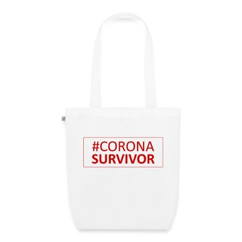 Corona Virus Survivor - EarthPositive Tote Bag
