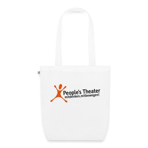 People's Theater Logo - Bio-Stoffbeutel
