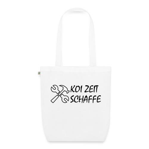 KoiZeit - Schaffe - Bio-Stoffbeutel