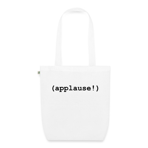 applause - EarthPositive Tote Bag