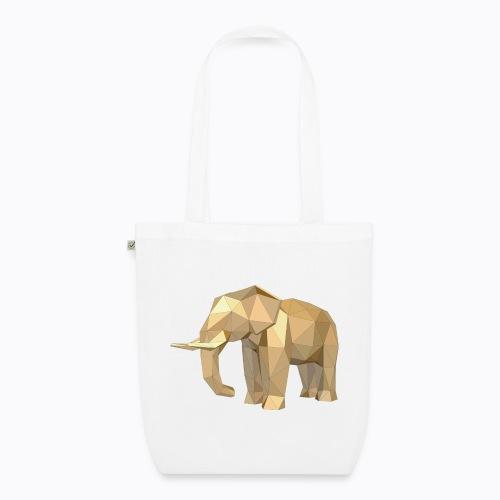 elephant geometric - EarthPositive Tote Bag