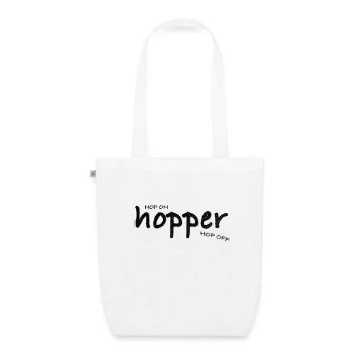 MuchoHop Hop On/Off (black) - Bolsa de tela ecológica