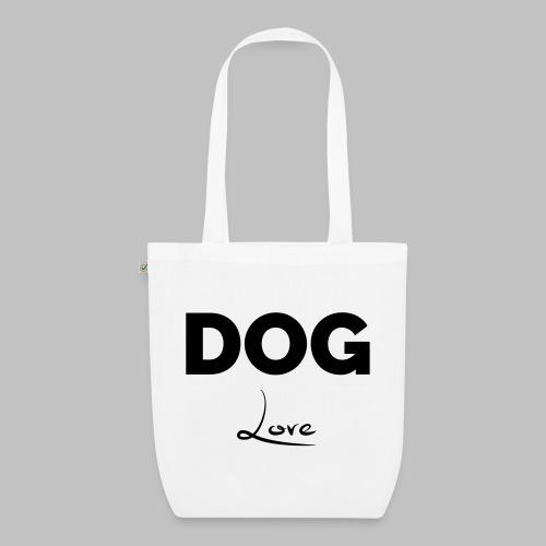 DOG LOVE - Geschenkidee für Hundebesitzer - Bio-Stoffbeutel