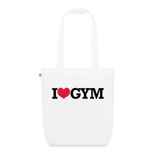 I Love Gym - Bodybuilding, Crossfit, Fitness - Bio-Stoffbeutel