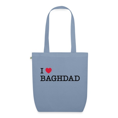 I LOVE BAGHDAD - EarthPositive Tote Bag