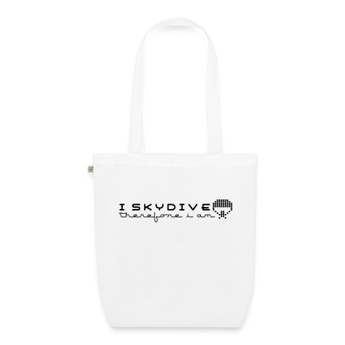i_skydive_therefore_i_am - EarthPositive Tote Bag