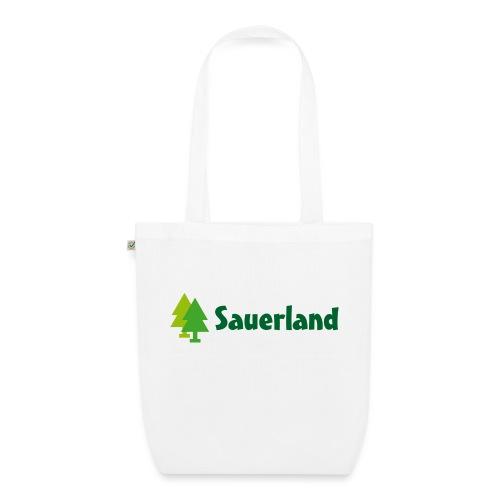 Sauerland -Schriftzug Tannen - Bio-Stoffbeutel