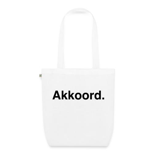 Akkoord - Bio stoffen tas