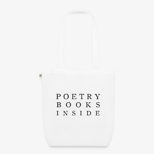 Poetry Books Inside - Bio-Stoffbeutel