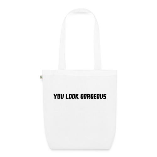 YOU LOOK GORGEOUS - Bio stoffen tas